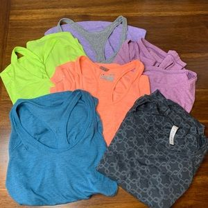 Soybu Nike Under Amour Women's Tops Lot Size Small